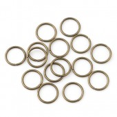 Zale simple bronz 10mm diam.- 50buc